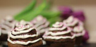 pieczenie muffinek czekoladowych